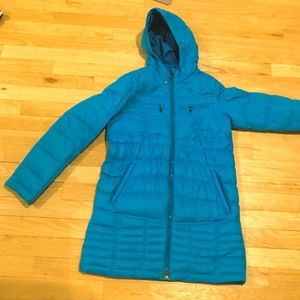 Blue LL-Bean Winter Coat